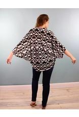 Copper Union CON Stevie Shrug - Triangle Summer Sweater