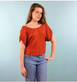 Whimsy Benji Top - Rusty