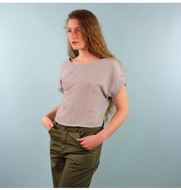 Whimsy Benji Top - Gauzy Grey