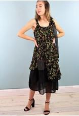 Sarah Bibb Kestly Super Ruffle - Tiny Black Sunshine