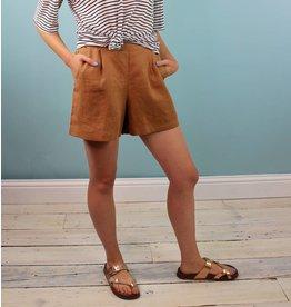 Whimsy Vela Shorts - Tan Linen