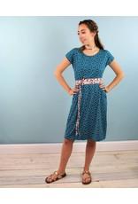 Sarah Bibb Jamie Dress - Teal Dottie