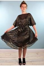 Sarah Bibb Sarah Dress - Goldie Dot