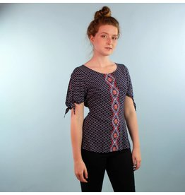 Jara Top - Navy