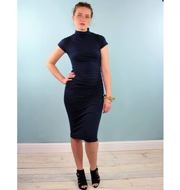 Velvet Valda Dress - Midnight