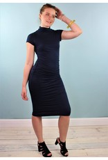 Velvet Valda Dress - Midnight