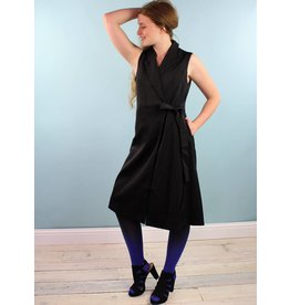 Jovonna Shana Wrap Dress - Black