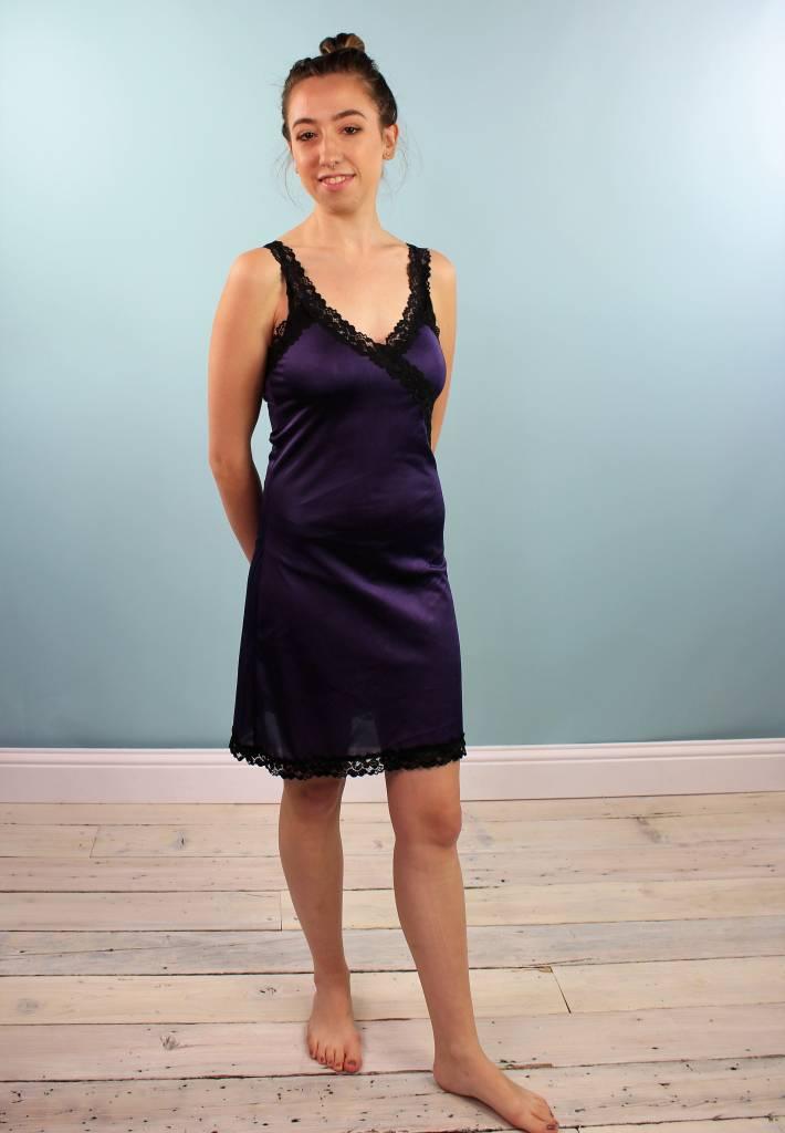 Sarah Bibb Ava Slip - Limited Edition Hand Dyed Amethyst