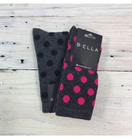 B. Ella Bea Cashmere Blend Sock - Multi Color
