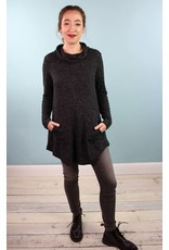Coin Darsa Tunic - Coal