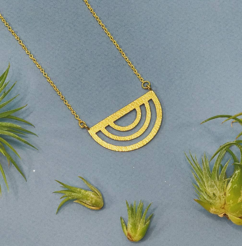 Nicole Weldon Sunset Necklace