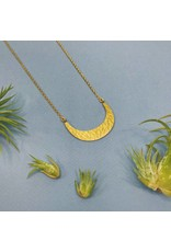 Nicole Weldon Crescent Necklace