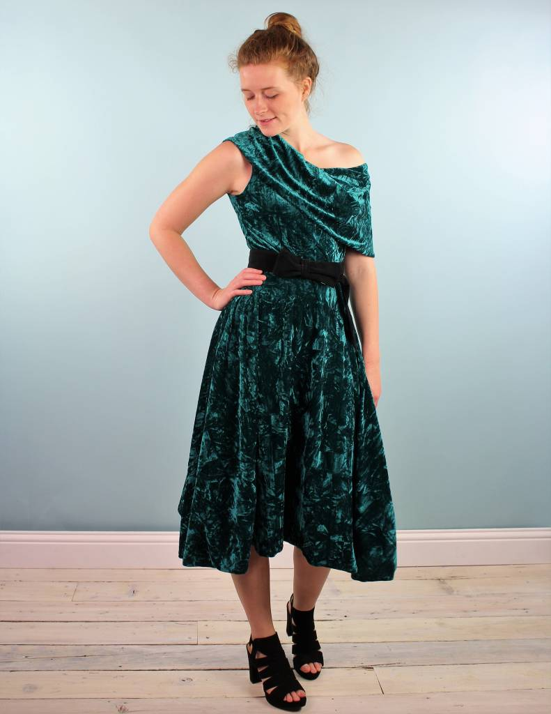 Sarah Bibb Gina Dress - Teal Basq