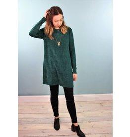 Traffic People Sue Sweater Tunic - Emerald