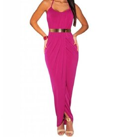 Maxi Dress/Cover Up - Fuchsia