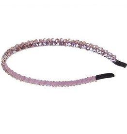 Pink Beaded Headband