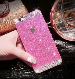 Pink iPhone 6 Glitter & Rhinestone Case