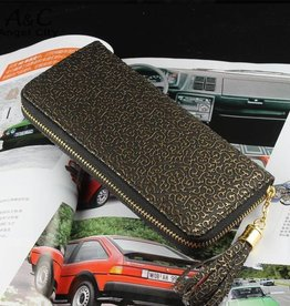 Black And Gold Wallet