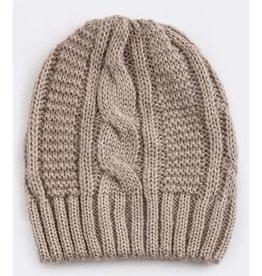 Khaki Knit Beanie