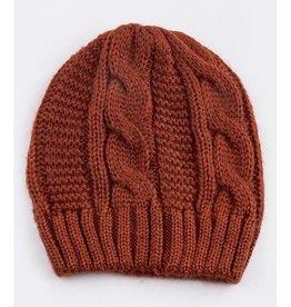 Rust Knit Beanie
