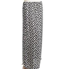 Black Ivory Maxi Skirt