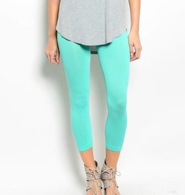 Mint Capri Leggings