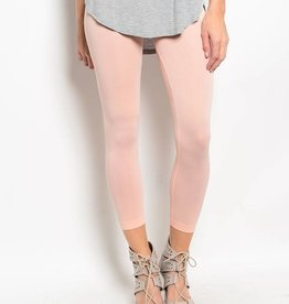 Peach Capri Leggings