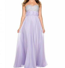 Lilac Jeweled Long Dress Size M