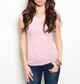 Pink Short Sleeve T Shirt