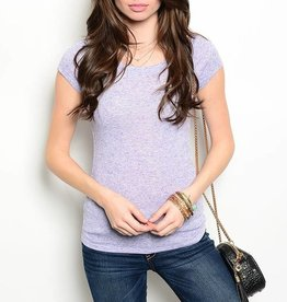 Lavender Short Sleeve T Shirt