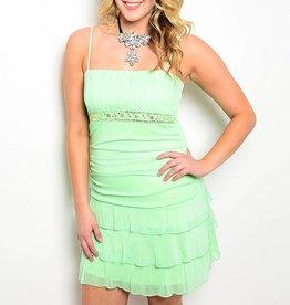 Lime Short Dress