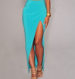 Light Blue Maxi Skirt