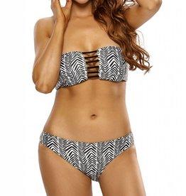 Black & White Chevron Bikini