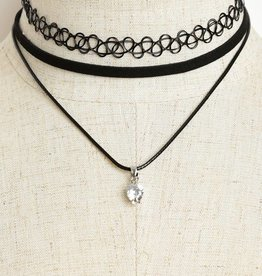 Jewel Drop Choker