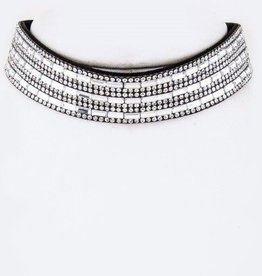 Mix Clear Crystal Choker