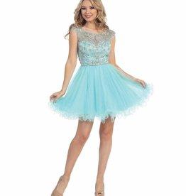 Mint Jeweled Short Dress Size XS