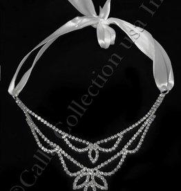 Silver Rhinestone Headband or Belt