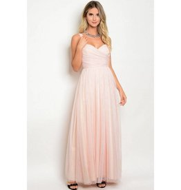 Dusty Pink Long Dress