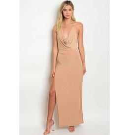 Taupe Long Dress