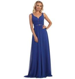 Royal Blue Long Dress Size M