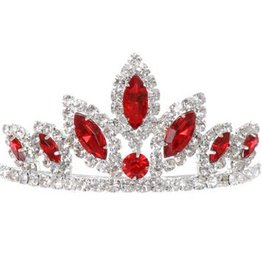 Red Jeweled Crown