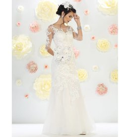 Ivory Bridal Gown Size 12