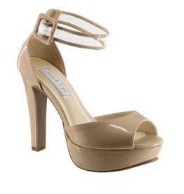 "Magnolia Nude Patent 4"" Heel Size 7.5"