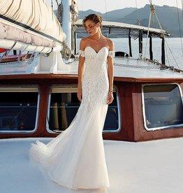 EK Champagne Bridal Gown Size 12