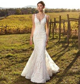 EK Ivory Bridal Gown Size 10