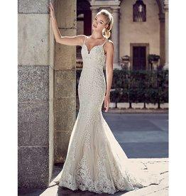 EK Champagne Bridal Gown Size 8