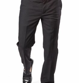 AZ Mens Black Tuxedo Slim Fit Pants Size 36R