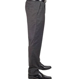 AZ Mens Grey Slim Fit Flat Front Pants Size 34