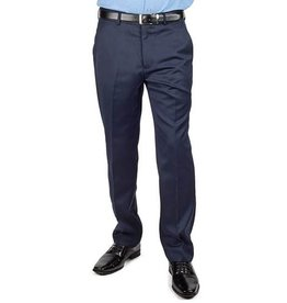 AZ Mens Navy Blue Slim Fit Dress Pants Size 38R