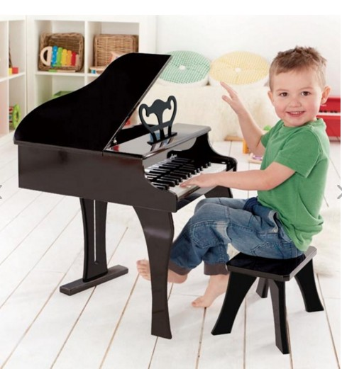 Hape Happy Grand Piano, Black E0320